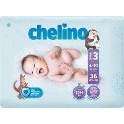 CHELINO PAÑAL INFANTIL T-3...