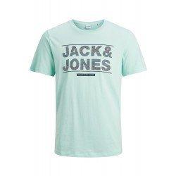 Camiseta JJMOUNT Turquesa